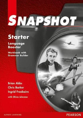 9780582259034: Snapshot Starter Language Booster