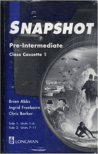 9780582259294: Snapshot: Pre-intermediate - Class Cassettes