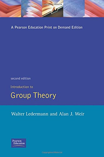 Introduction to Group Theory: Walter Ledermann; A.