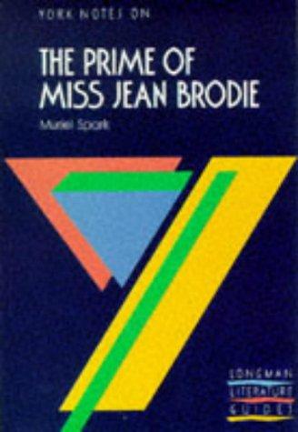 "York Notes on Muriel Spark's ""Prime of Miss Jean Brodie"": Royale, Trevor"