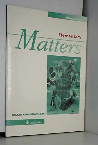 Elementary Matters Workbook without key (0582273609) by Jan Bell; Roger Gower; Sarah Cunningham