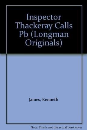 9780582273979: Inspector Thackeray Calls (Longman Originals)