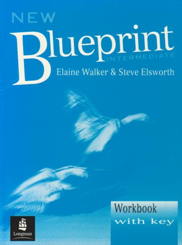 9780582275355: New Blueprint Intermediate: Workbook with Key (Blueprint Series)