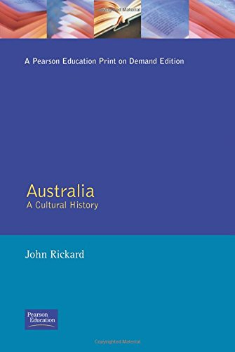9780582276055: Australia: A Cultural History (The Present and the Past)