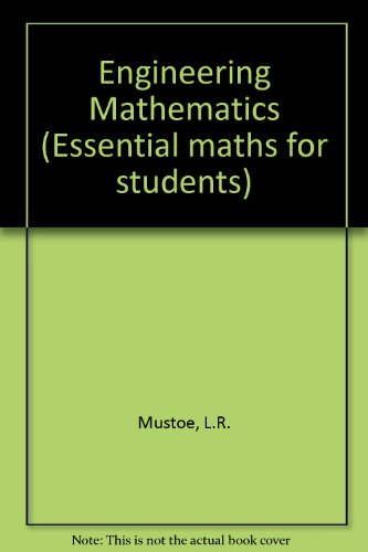9780582277298: Engineering Mathematics (Essential Maths for Students)