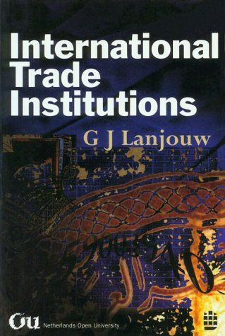 9780582277649: International Trade Institutions
