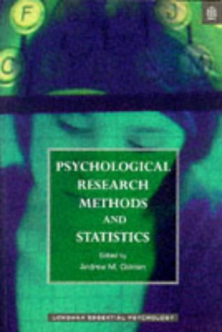 9780582278011: Psychological Research Methods and Statistics
