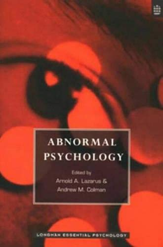 9780582278073: Abnormal Psychology (Longman Essential Psychology)
