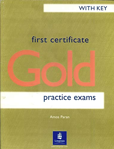 9780582279209: First Certificate Gold Practice Exams Without Key Old Edition