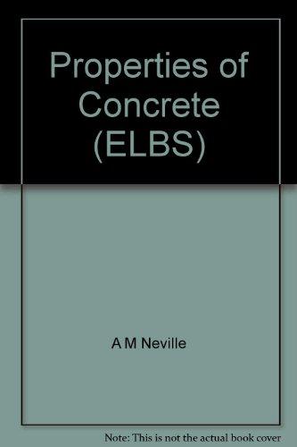 9780582279384: Properties of Concrete (English Language Book Society)