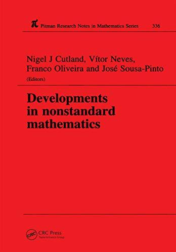 9780582279704: Developments in Nonstandard Mathematics