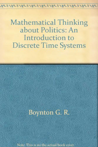 Political Change in the United States : G. R. Boynton