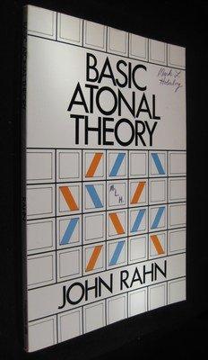 9780582281172: Basic atonal theory (Longman music series)
