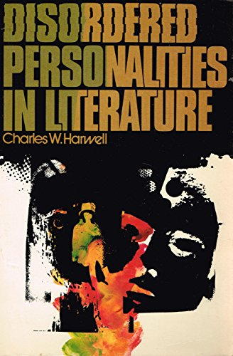 9780582281653: Disordered personalities in literature (Longman English and humanities series)