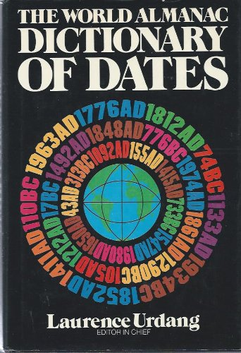 9780582283725: The World Almanac Dictionary of Dates