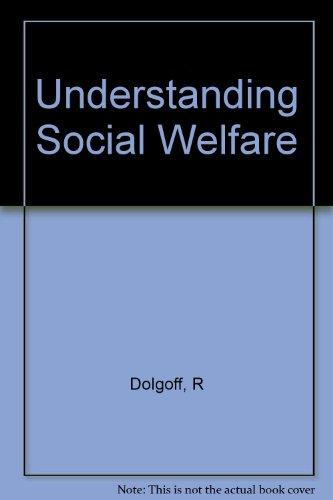 9780582284623: Understanding social welfare