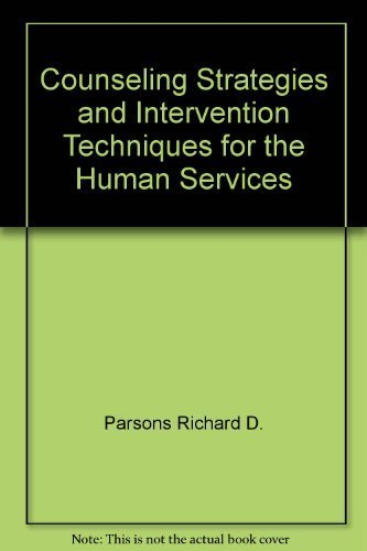 9780582284715: Counseling strategies and intervention techniques for the human services