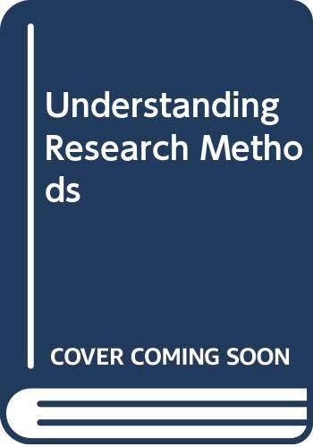 Understanding Research Methods: Adams, Gerald R.,