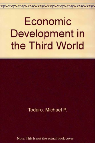 9780582285002: Economic development in the Third World