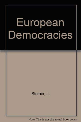 9780582285798: European Democracies