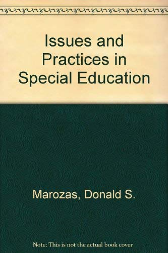 9780582286399: Issues and Practices in Special Education