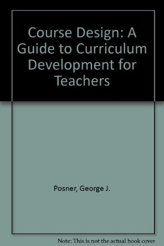 posner on the curriculum development system