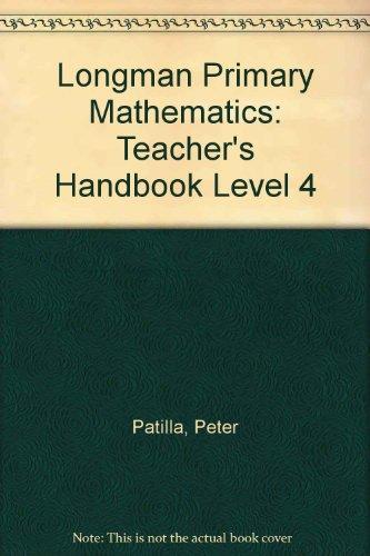 9780582288348: Longman Primary Mathematics: Teacher's Handbook Level 4