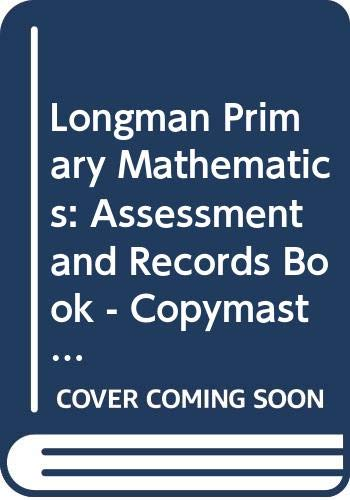 9780582288355: Longman Primary Mathematics: Assessment and Records Book - Copymasters with Diagnostic Advice Level 4