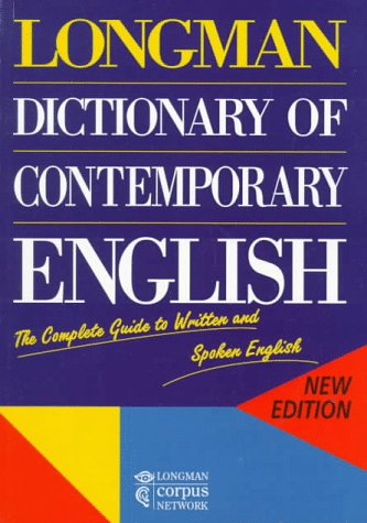 9780582288621: Longman Dictionary of Contemporary English