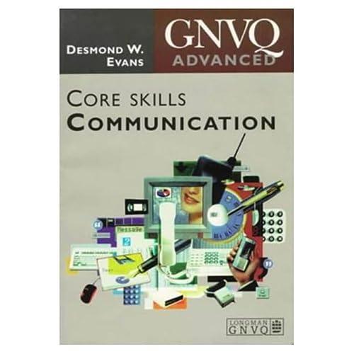 9780582288720: ADVANCED GNVQ: CORE SKILL COMMUNICATION (ADVANCED GNVQ)
