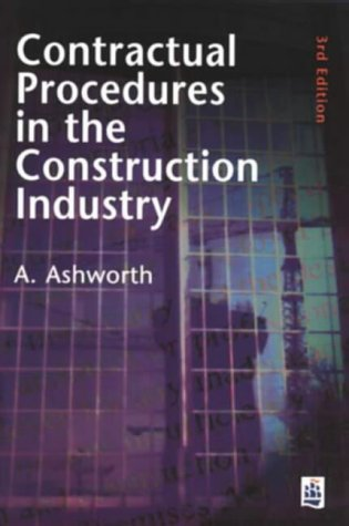 9780582288751: Contractual Procedures in the Construction Industry