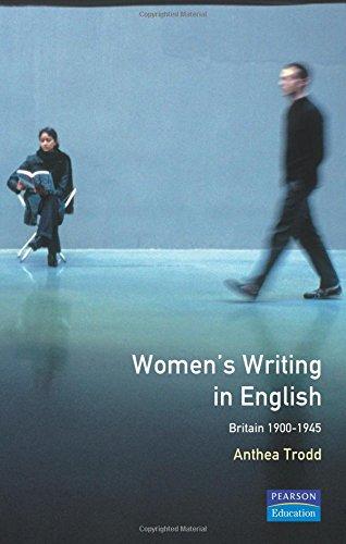 9780582289154: Women's Writing in English: Britain 1900-1945