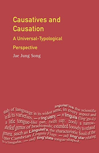 9780582289185: Causatives and Causation: A Universal -typological perspective (Longman Linguistics Library)