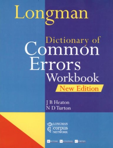 9780582290464: Longman Dictionary Of Common Errors Workbook New Edition (Other Dictionaries)