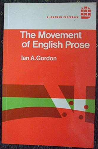 9780582291065: Movement of English Prose (ELS)