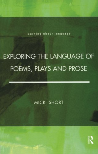 9780582291300: Exploring the Language of Poems, Plays and Prose