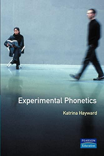 9780582291379: Experimental Phonetics: An Introduction