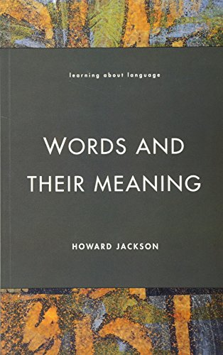9780582291546: Words and Their Meaning (Learning about Language)