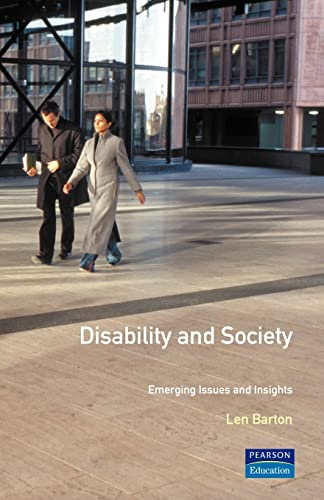 9780582291669: Disability and Society: Emerging Issues and Insights (Longman Sociology Series)