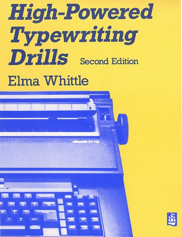 9780582291676: High-Powered Typing