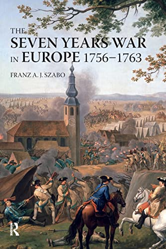 9780582292727: The Seven Years War in Europe: 1756-1763 (Modern Wars In Perspective)