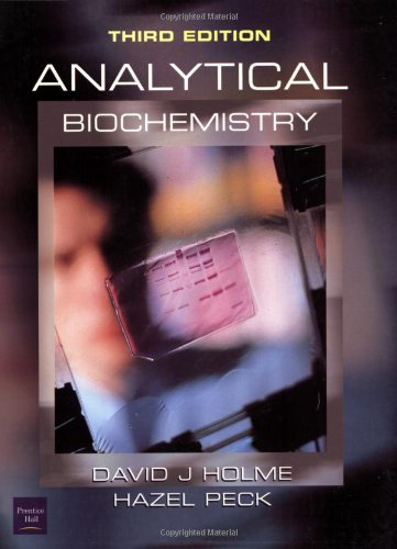 9780582294387: Analytical Biochemistry