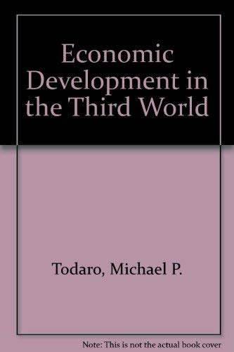 9780582295339: Economic Development in the Third World.