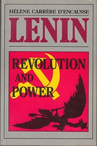 9780582295599: A History of the Soviet Union, 1917-53: Lenin - Revolution and Power v. 1 (A History of the Soviet Union 1917-1753)