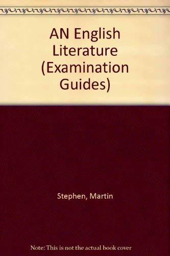 9780582296992: AN English Literature (Examination Guides)