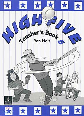 9780582298545: High Five Teachers Book 5 (Book v)