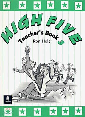 9780582298699: High Five Teachers Book 3: Teachers' Book v. 3
