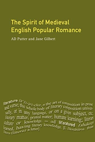 The Spirit of Medieval English Popular Romance: Ad Putter, Jane