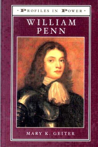 9780582299009: William Penn (Profiles in Power)
