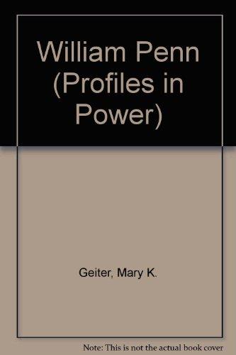 9780582299016: William Penn (Profiles in Power)